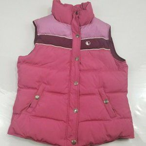 Goods Goose Women's Puffer Vest Pink Size S Small